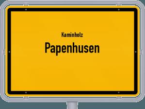 Kaminholz & Brennholz-Angebote in Papenhusen