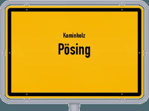 Kaminholz & Brennholz-Angebote in Pösing