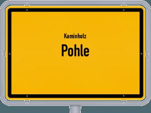 Kaminholz & Brennholz-Angebote in Pohle