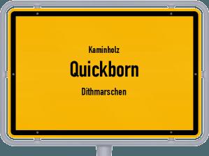 Kaminholz & Brennholz-Angebote in Quickborn (Dithmarschen)