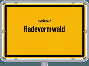 Kaminholz & Brennholz-Angebote in Radevormwald