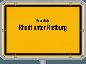 Kaminholz & Brennholz-Angebote in Rhodt unter Rietburg