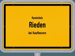 Kaminholz & Brennholz-Angebote in Rieden (bei Kaufbeuren)