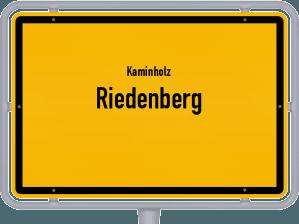 Kaminholz & Brennholz-Angebote in Riedenberg