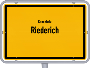 Kaminholz & Brennholz-Angebote in Riederich