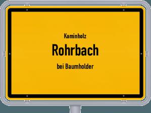 Kaminholz & Brennholz-Angebote in Rohrbach (bei Baumholder)