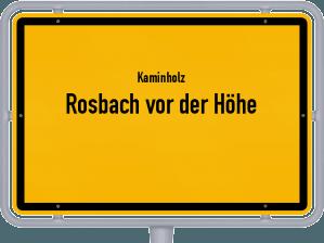 Kaminholz & Brennholz-Angebote in Rosbach vor der Höhe