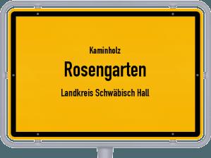 Kaminholz & Brennholz-Angebote in Rosengarten (Landkreis Schwäbisch Hall)