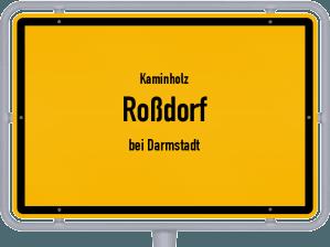 Kaminholz & Brennholz-Angebote in Roßdorf (bei Darmstadt)