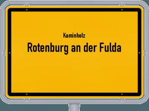 Kaminholz & Brennholz-Angebote in Rotenburg an der Fulda