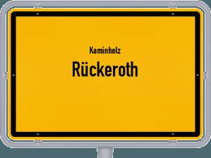 Kaminholz & Brennholz-Angebote in Rückeroth