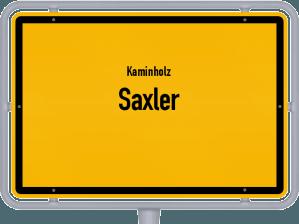 Kaminholz & Brennholz-Angebote in Saxler