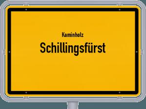 Kaminholz & Brennholz-Angebote in Schillingsfürst