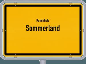 Kaminholz & Brennholz-Angebote in Sommerland