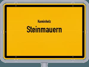 Kaminholz & Brennholz-Angebote in Steinmauern
