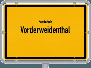 Kaminholz & Brennholz-Angebote in Vorderweidenthal