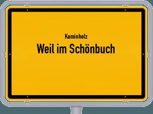 Kaminholz & Brennholz-Angebote in Weil im Schönbuch
