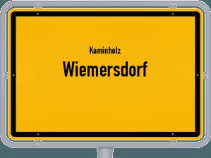 Kaminholz & Brennholz-Angebote in Wiemersdorf