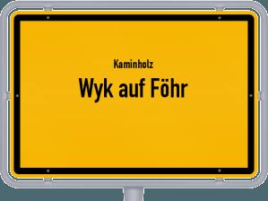 Kaminholz & Brennholz-Angebote in Wyk auf Föhr