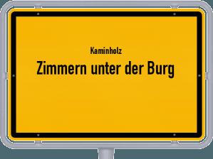 Kaminholz & Brennholz-Angebote in Zimmern unter der Burg